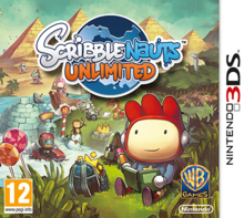 Box art for the game Scribblenauts Unlimited