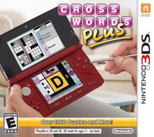Box art for the game Crosswords Plus