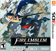 Box art for the game Fire Emblem: Awakening