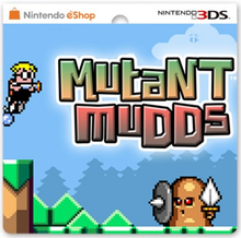 Box art for the game Mutant Mudds