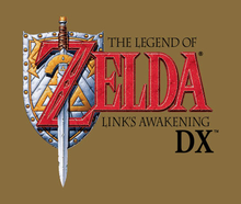 Box art for the game The Legend of Zelda: Link's Awakening DX