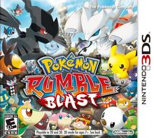 Capa do jogo Pokémon Rumble Blast