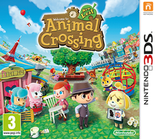 Box art for the game Animal Crossing: New Leaf