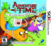 Box art for the game Adventure Time: Hey Ice King! Why'd You Steal Our Garbage?!