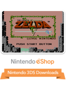 Box art for the game The Legend Of Zelda
