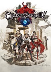 Box art for the game Crimson Shroud