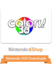 Box art for the game Colors! 3D