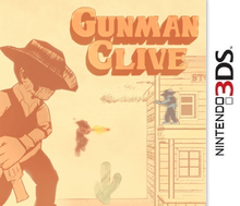 Box art for the game Gunman Clive