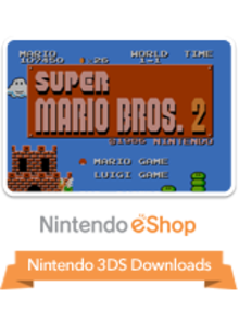 Box art for the game Super Mario Bros.: The Lost Levels