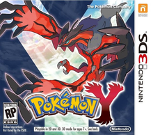 Box art for the game Pokemon Y
