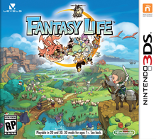 Box art for the game Fantasy Life