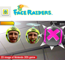 Box art for the game Face Raiders
