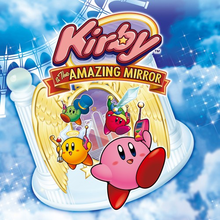 Box art for the game Kirby & The Amazing Mirror