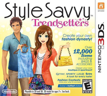 Box art for the game Style Savvy: Trendsetters