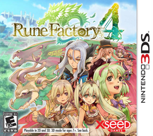 Box art for the game Rune Factory 4