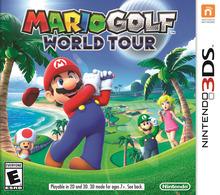 Box art for the game Mario Golf: World Tour