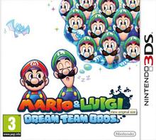 Box art for the game Mario & Luigi: Dream Team