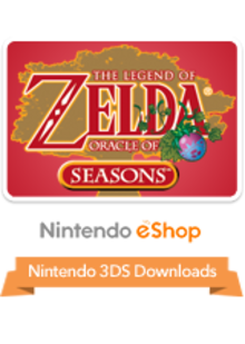 Box art for the game The Legend of Zelda: Oracle of Seasons