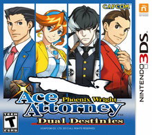 Box art for the game Phoenix Wright: Ace Attorney - Dual Destinies