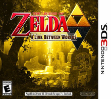 Capa do jogo The Legend of Zelda: A Link Between Worlds