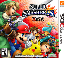 Box art for the game Super Smash Bros. for Nintendo 3DS