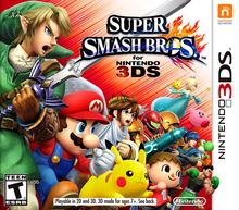 Capa do jogo Super Smash Bros. for Nintendo 3DS