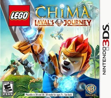 Box art for the game LEGO Legends of Chima: Laval's Journey