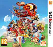 Box art for the game One Piece: Unlimited World Red