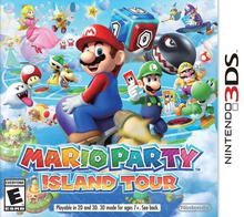 Box art for the game Mario Party: Island Tour