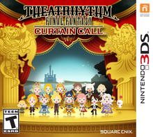 Box art for the game Theatrhythm Final Fantasy: Curtain Call
