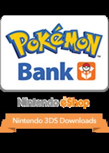 Box art for the game Pokémon Bank