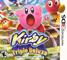 Box art for the game Kirby: Triple Deluxe