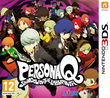 Box art for the game Persona Q: Shadow of The Labyrinth