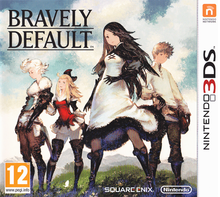 Box art for the game Bravely Default