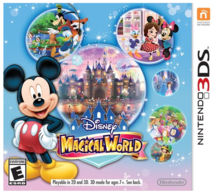 Box art for the game Disney Magical World