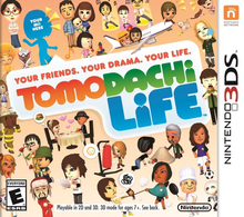 Box art for the game Tomodachi Life