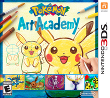 Box art for the game Pokémon Art Academy