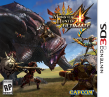 Capa do jogo Monster Hunter 4 Ultimate