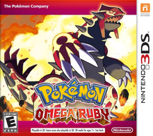 Box art for the game Pokemon Omega Ruby
