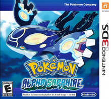 Box art for the game Pokemon Alpha Sapphire