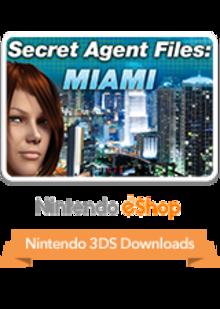 Box art for the game Secret Agent Files: Miami