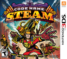 Box art for the game Code Name: S.T.E.A.M.