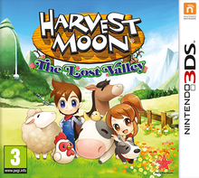 Box art for the game Harvest Moon: The Lost Valley