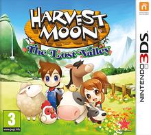 Capa do jogo Harvest Moon: The Lost Valley