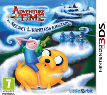 Box art for the game Adventure Time: The Secret of the Nameless Kingdom