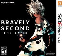 Capa do jogo Bravely Second