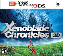 Box art for the game Xenoblade Chronicles 3D