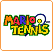 Box art for the game Mario Tennis