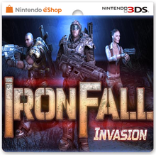 Box art for the game IronFall: Invasion