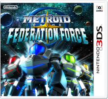 Box art for the game Metroid Prime: Federation Force